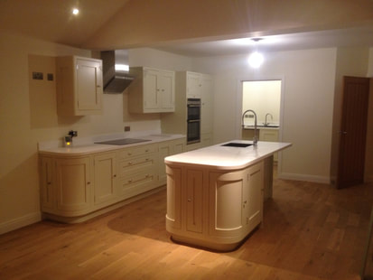Kitchen fitters in Leicester